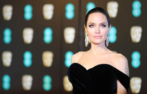 Angelina Jolie arrives at the British Academy of Film and Television Awards (BAFTA) at the Royal Albert Hall in London, Britain, February 18, 2018. REUTERS/Hannah McKay
