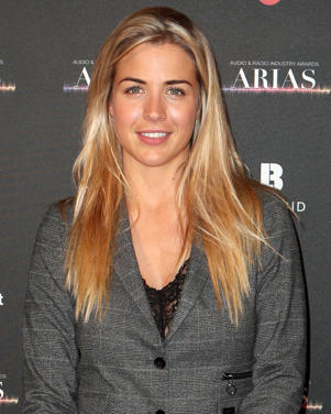 Gemma Atkinson arriving at the The Audio and Radio Industry Awards (ARIAS) at the First Direct Arena in Leeds. (Photo by Danny Lawson/PA Images via Getty Images)