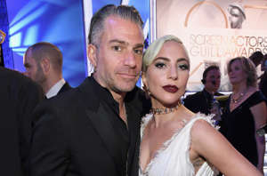 CAPTION: LOS ANGELES, CA - JANUARY 27: Christian Carino and Lady Gaga attend the 25th Annual Screen Actors Guild Awards at The Shrine Auditorium on January 27, 2019 in Los Angeles, California. 480568 (Photo by Kevin Mazur/Getty Images for Turner)