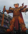 'God emperor Trump' float steals the show at Italian carnival
