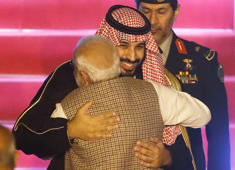 Congress taunts PM as Saudi crown prince visits