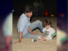 SRK and AbRam's picture shows their rare bond