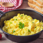 The ingredient you should add when making scrambled eggs