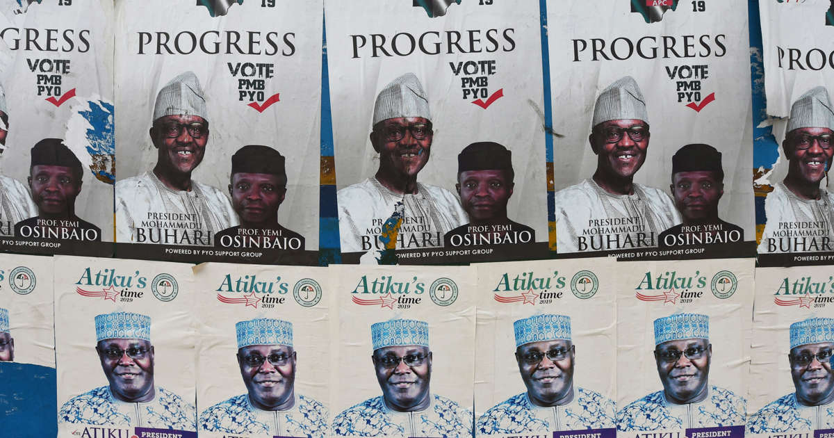 Unpacking the race for Nigeria's presidency in 2019