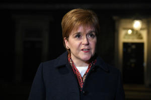 Nicola Sturgeon said independence would be about 'protecting Scotland's place in Europe'