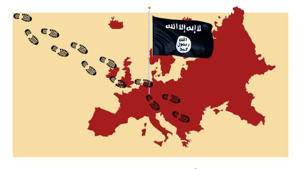 Fears IS sleeper cells and 'undead' suicide bombers have infiltrated Europe