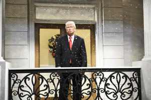 Alec Baldwin as President Donald Trump for SNL