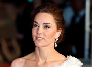 LONDON, UNITED KINGDOM - FEBRUARY 10: (EMBARGOED FOR PUBLICATION IN UK NEWSPAPERS UNTIL 24 HOURS AFTER CREATE DATE AND TIME) Catherine, Duchess of Cambridge attends the EE British Academy Film Awards at the Royal Albert Hall on February 10, 2019 in London, England. (Photo by Max Mumby/Indigo/Getty Images)
