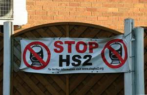 HS2 has been the subject of numerous protests