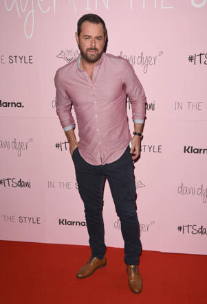 LONDON, ENGLAND - OCTOBER 10:  Danny Dyer attends the 'Dani Dyer X In The Style' launch party on October 10, 2018 in London, United Kingdom.  (Photo by Stuart C. Wilson/Getty Images)
