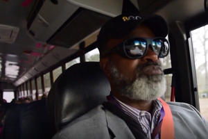 Driving a school bus is much more than just a job for this dedicated reverend