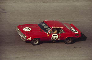 UNITED STATES - FEBRUARY 04:  1969 Daytona 24 Hour Race. Co-driver Bob Grossman and Bob Dini driving a Chevrolet Camaro.  (Photo by /The Enthusiast Network/Getty Images)