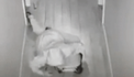 Police dubbed burglary suspect after camera caught him crawling along floor