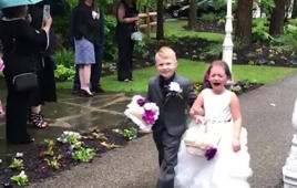 The best of kids vs weddings: Always a recipe for trouble!
