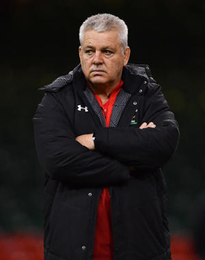 Wales , United Kingdom - 15 March 2019; Head coach Warren Gatland during the Wales rugby captain's run at the Principality Stadium in Cardiff, Wales. (Photo By Ramsey Cardy/Sportsfile via Getty Images)