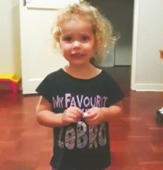 Little girl takes mom's request to count backward very literally