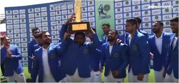 Afghanistan celebrate maiden Test win