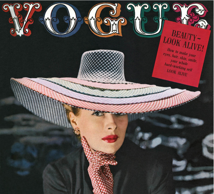 Vintage Vogue magazine covers