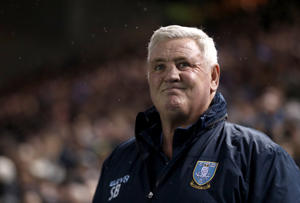 Sheffield Wednesday manager Steve Bruce before the Sky Bet Championship match at Hillsborough, Sheffield. (Photo by Simon Cooper/PA Images via Getty Images)