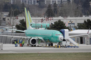 Boeing 737 MAX aircraft are parked at a Boeing production facility in Renton, Washington, U.S. March 11, 2019.