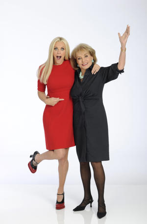 (Photo by Donna Svennevik/ABC via Getty Images) JENNY MCCARTHY, BARBARA WALTERS