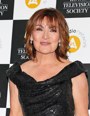 Lorraine Kelly attends The Royal Television Society Programme Awards at The Grosvenor House Hotel on March 19, 2019 in London