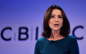 Carolyn Fairbairn, Director General of the Confederation of British Industry (CBI), speaks at their annual conference in London, Britain, November 19, 2018. REUTERS/Toby Melville