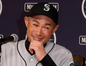 Seattle Mariners right fielder Ichiro Suzuki attends a news conference in Tokyo, Japan March 21, 2019. REUTERS/Kim Kyung-hoon