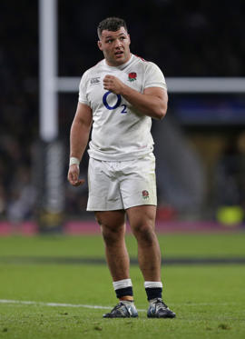 LONDON, ENGLAND - MARCH 16: Ellis Genge of England during the Guinness Six Nations match between England and Scotland at Twickenham Stadium on March 16, 2019 in London, England. (Photo by Henry Browne/Getty Images)