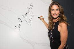 LOS ANGELES, CA - MAY 16:  Cindy Crawford attends Cindy Crawford And Eduardo Cosentino's New Design Alliance and launch of Silestone's latest collection 'Eternal Beauty and Eternal Style' at Milk Studios on May 16, 2017 in Los Angeles, California.  (Photo by Emma McIntyre/Getty Images)