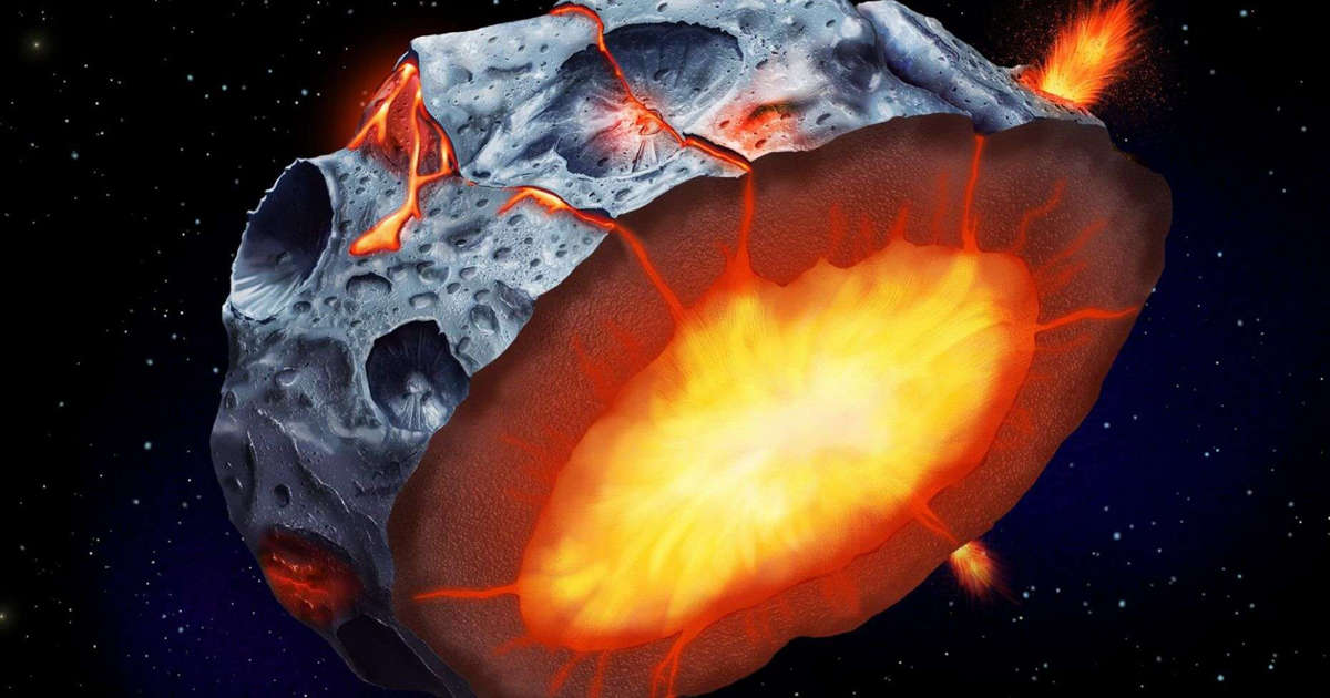 Iron volcanoes may have erupted on metal asteroids, study says