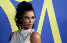 Kim Kardashian attends the CFDA Fashion awards in Brooklyn, New York, U.S., June 4, 2018. REUTERS/Shannon Stapleton