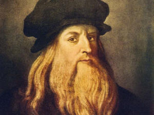 Leonardo da Vinci - self portrait of the Italian Renaissance painter, sculptor, writer, scientist, architect and engineer. 1452-1519 (Photo by Culture Club/Getty Images)