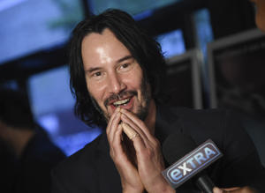 "Actor Keanu Reeves attends the premiere of ""Siberia"" at Metrograph on Wednesday, July 11, 2018, in New York. (Photo by"