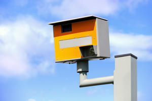 Stock picture of a UK speed camera