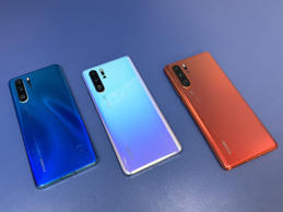 The new Huawei P30 Pro which is part of the Chinese firm's new flagship smartphone range that they unveiled in Paris. The smartphone giant is stepping up its attempts to overtake Samsung as the biggest mobile phone maker in the world. (Photo by Martyn Landi/PA Images via Getty Images)