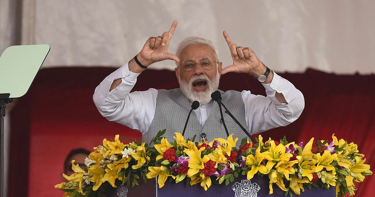 "Modi Says India Is Now a ""Space Power"" After Shooting Down Satellite"