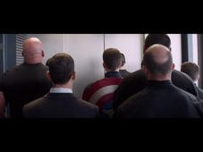 Captain America : The winter soldier- elevator fight vs S.H.I.E.L.D a 720p Quality.