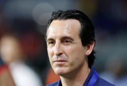 Soccer Football - Club Friendly Match - Al-Nasr SC v Arsenal - Al-Maktoum Stadium, Dubai, United Arab Emirates - March 26, 2019  Arsenal manager Unai Emery  REUTERS/Satish Kumar Subramani