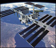 International Space Station (ISS) in animation still image.  (Photo by Time Life Pictures/NASA/The LIFE Picture Collection/Getty Images)