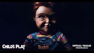 a screen shot of a man: Time to play. The full trailer for Child's Play is finally here. From the producers of IT comes a modern reimagining of the horror classic. Child's Play hits theaters June 21. 🔪 #ChildsPlayMovie