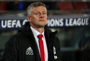 Soccer Football - Champions League Quarter Final Second Leg - FC Barcelona v Manchester United - Camp Nou, Barcelona, Spain - April 16, 2019  Manchester United manager Ole Gunnar Solskjaer before the match   REUTERS/Sergio Perez