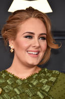 LOS ANGELES, CA - FEBRUARY 12:  Recording artist Adele attends The 59th GRAMMY Awards at STAPLES Center on February 12, 2017 in Los Angeles, California.  (Photo by John Shearer/WireImage)
