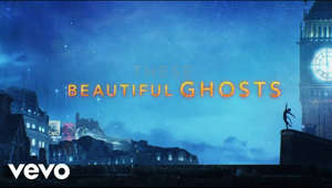 "a city at night: Lyric video for 'Beautiful Ghosts' performed by Taylor Swift from the motion picture CATS.   Written by Taylor Swift & Andrew Lloyd Webber  Listen/ Download - https://TaylorSwift.lnk.to/BeautifulGhostsID  Cats coming soon to theaters everywhere  #BeautifulGhosts  Music video by Taylor Swift performing Beautiful Ghosts (From The Motion Picture ""Cats"" / Lyric Video). © 2019 Universal Pictures, a division of Universal City Studios LLC, The Really Useful Group Limited and Taylor Swift, under exclusive licence to Polydor Records, a division of Universal Music Operations Limited"