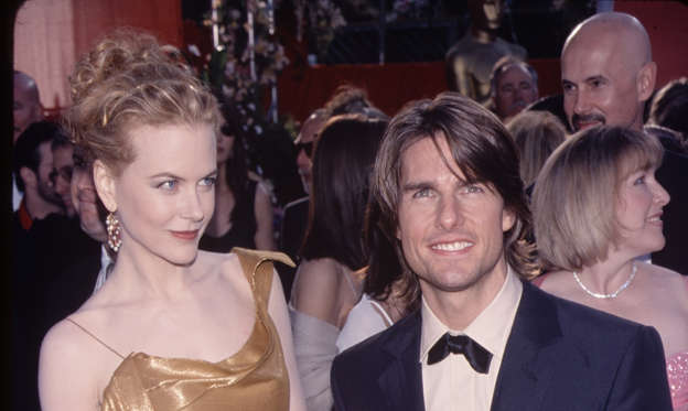 幻灯片 25 - 2: UNITED STATES - circa 1995: Actor Tom Cruise with his wife Nicole Kidman. (Photo by The LIFE Picture Collection/Getty Images)