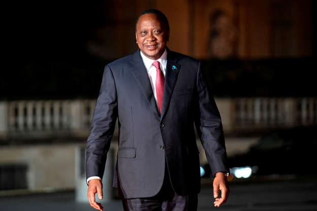 b676ca879 File Photo-Kenyan President Uhuru Kenyatta arrives at the Musee d'Orsay in  Paris