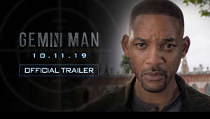Will Smith looking at the camera: Watch the new trailer from visionary director Ang Lee, starring Will Smith. Gemini Man is In Theatres October 11th, 2019.  Gemini Man (#GeminiMan) is an innovative action-thriller starring Will Smith (#WillSmith) as Henry Brogan, an elite assassin, who is suddenly targeted and pursued by a mysterious young operative that seemingly can predict his every move.  The film is directed by Academy Award®-winning filmmaker Ang Lee and produced by renowned producers Jerry Bruckheimer, David Ellison, Dana Goldberg and Don Granger.  Also starring are Mary Elizabeth Winstead, Clive Owen and Benedict Wong.  Gemini Man opens in theaters October 11, 2019.   Connect with #GeminiMan   Facebook: https://www.facebook.com/GeminiManMovie/ Twitter: https://twitter.com/geminimanmovie Instagram: https://www.instagram.com/geminimanmovie/  Paramount Pictures Corporation (PPC), a major global producer and distributor of filmed entertainment, is a unit of Viacom (NASDAQ: VIAB, VIA), home to premier global media brands that create compelling television programs, motion pictures, short-form content, apps, games, consumer products, social media experiences, and other entertainment content for audiences in more than 180 countries.   Connect with Paramount Pictures Online:   Official Site: http://www.paramount.com/ Facebook: https://www.facebook.com/Paramount Instagram: http://www.instagram.com/ParamountPics Twitter: https://twitter.com/paramountpics YouTube: https://www.youtube.com/user/Paramount