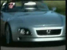 a close up of a car: 1997 Honda SSM Prototype S2000 Concept promotional video