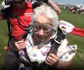 90-year-old woman goes skydiving for her birthday
