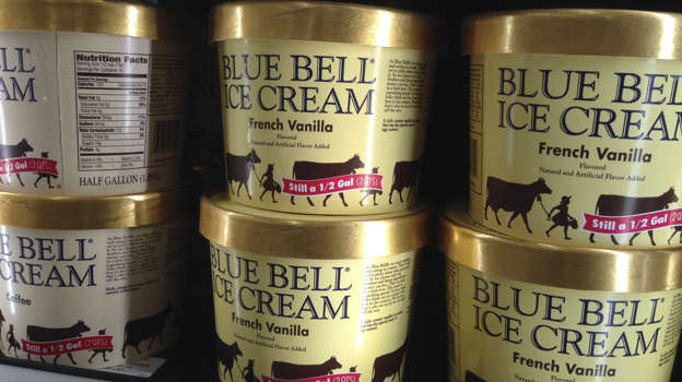 Now available in stores, Blue Bell's Cookie Cake Ice Cream may or may not will undoubtedly be my go-to this summer. The new flavor is said to be rich and creamy, loaded with pieces of chocolate chip cookie cake-yes, cookie. cake.-as well as swirls of chocolate and vanilla icing. *Swoon*